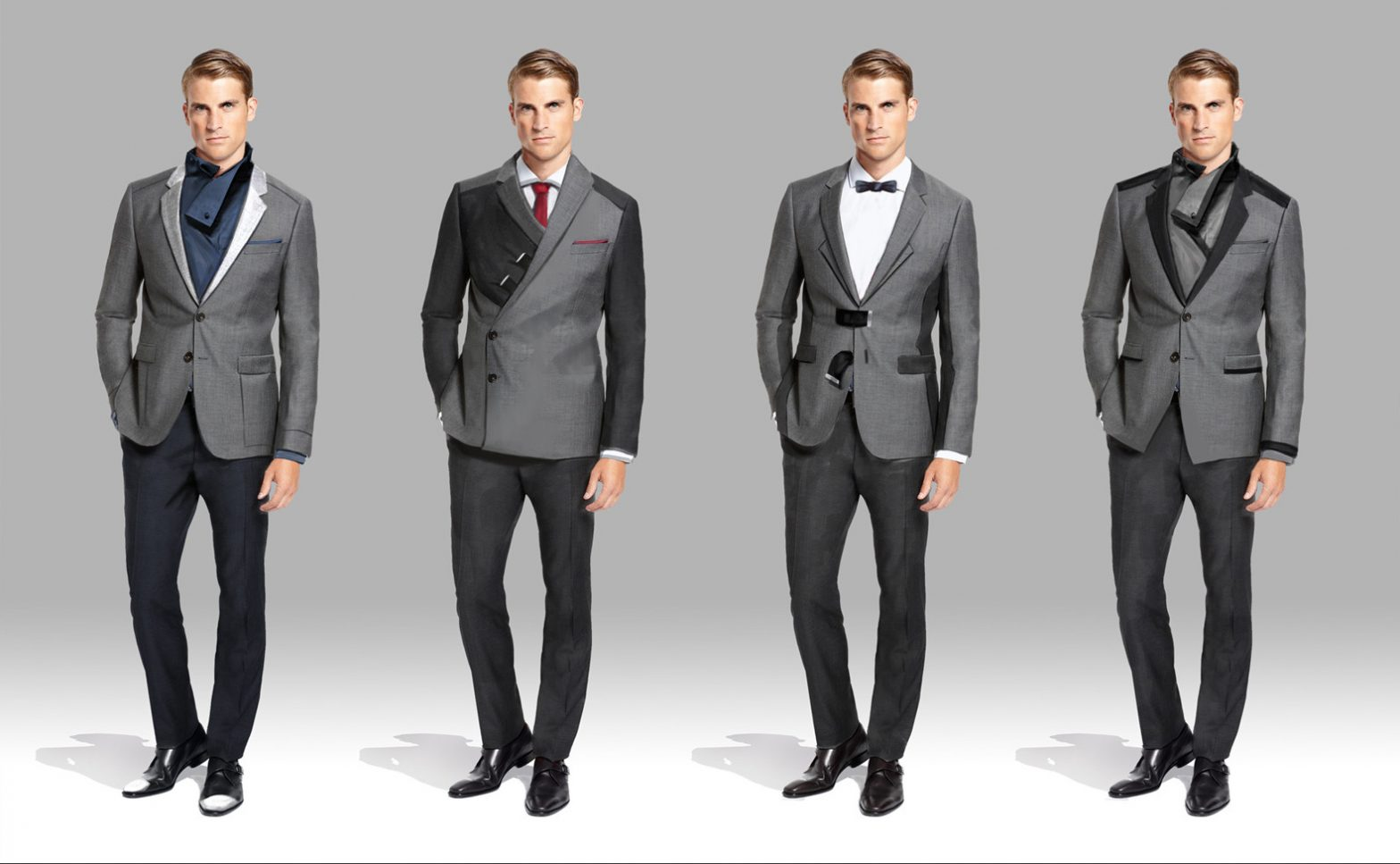 Futuristic Men Suits